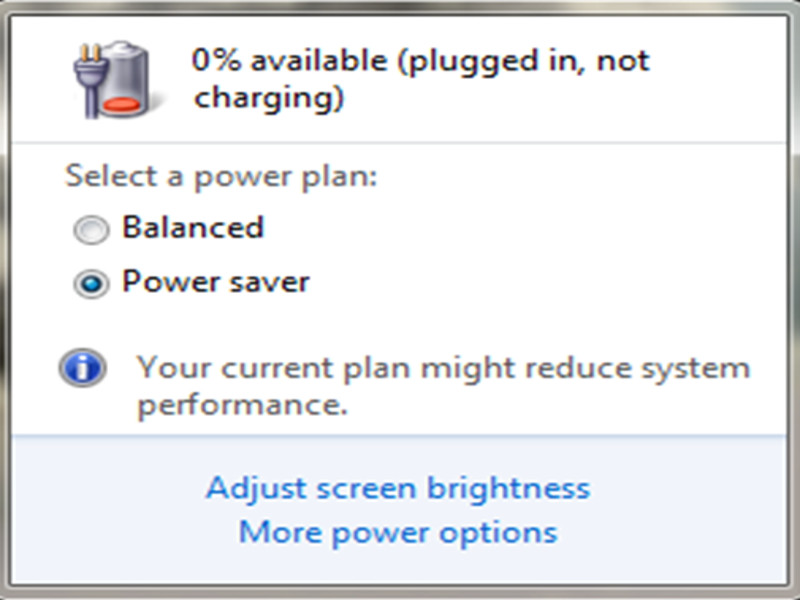 PC Not Charging